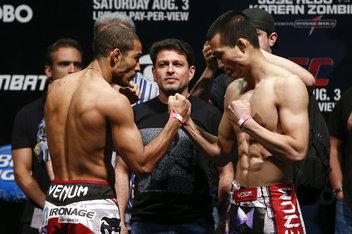 UFC 163, Jose Aldo, Chan Sung Jung