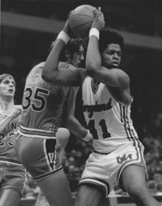 Len Elmore back in his Maryland days. courtesy: nasaljerseys.com